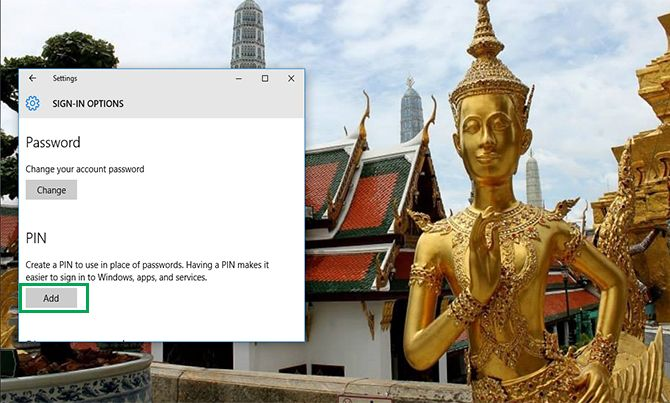 How to Change Windows 10 Password to a Pin